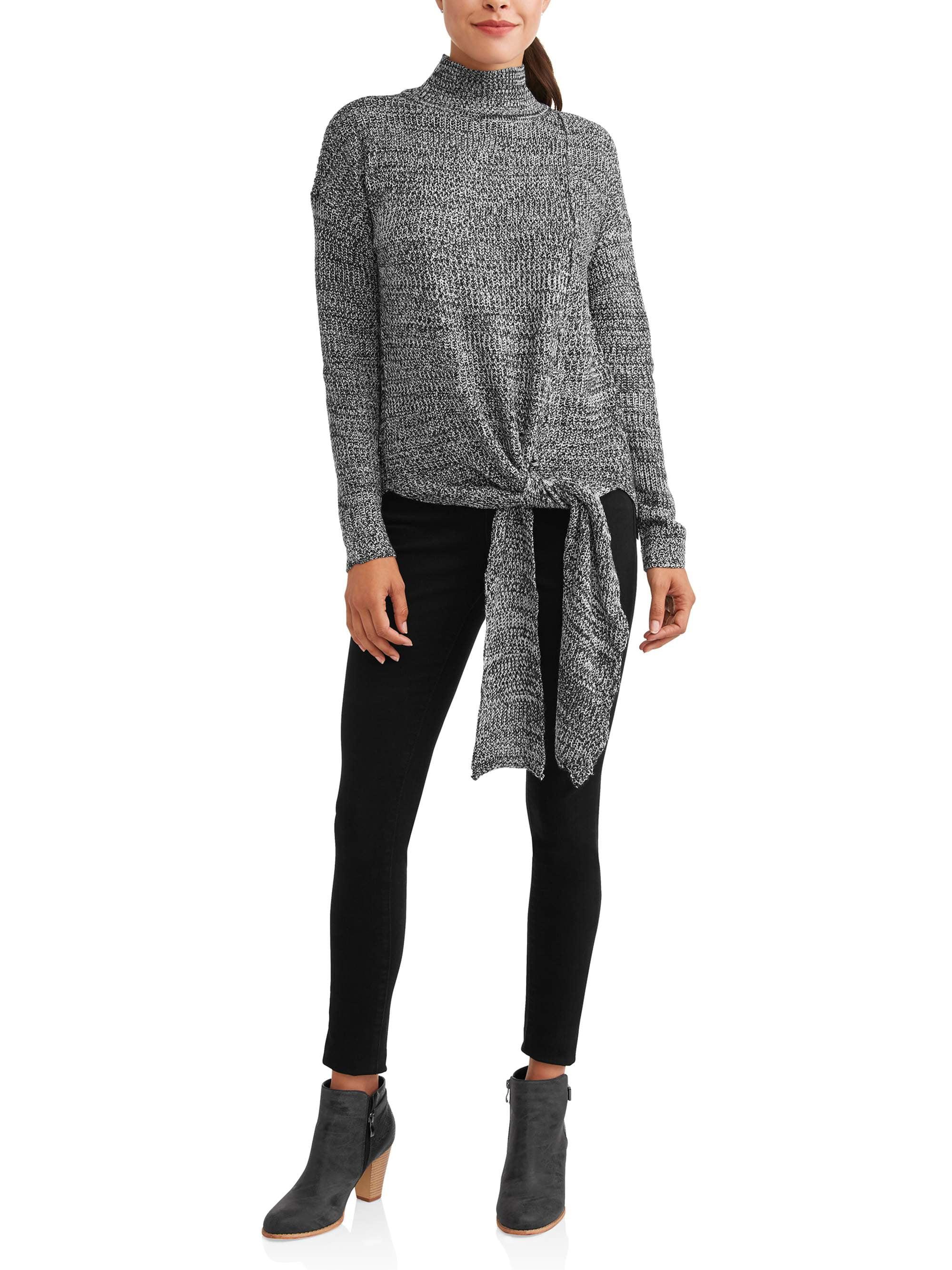 Women's Side Tie Sweater by CUDLIE- 12.28