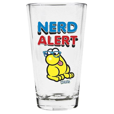 Imaginarium Goods GLS-NES-ALERT Nerd Pint Glass, Nerd Alert - image 1 de 1