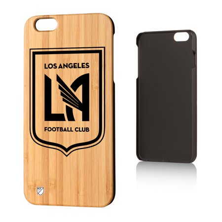 Los Angeles Footbal Club LAFC Insignia Bamboo Case for iPhone 6 Plus - Halloween Dance Clubs Los Angeles