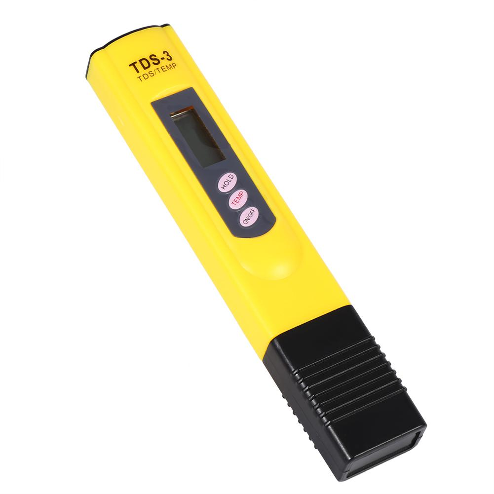 Lv. life Digital LCD Water Quality Testing Pen Purity Filter TDS Meter Tester 0-9990 PPM, TDS Meter Tester