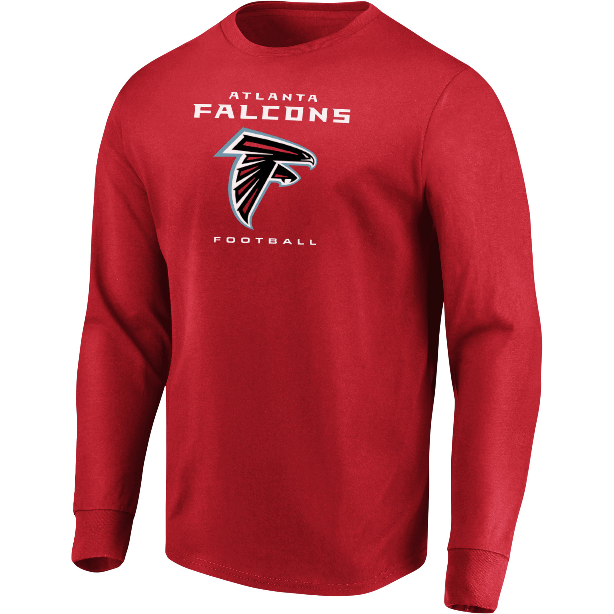 Men's Majestic Red Atlanta Falcons Our Team Long Sleeve T-Shirt