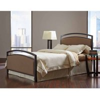 Gibson Brown Sugar/Brown Sparkle King Bed without Frame