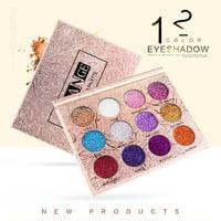 matoen Fashion 12 Colors Make Up Luxury Golden Matte Nude Eye Shadow Palettes Cosmetics
