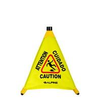 Alpine Industries Pop-Up Wet Floor Sign