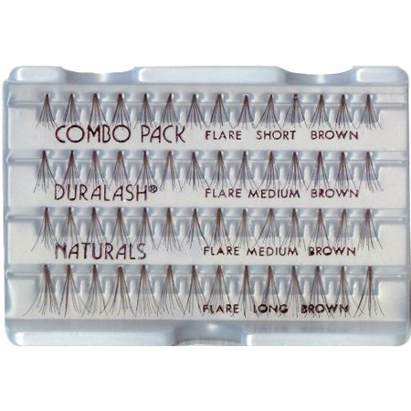 20c36f26ac8 Ardell Duralash Naturals False Eyelashes - Combo Brown (Pack of 6) -  Walmart.com