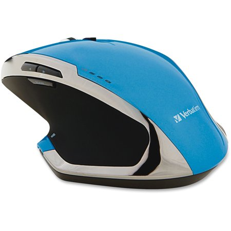- Verbatim, VER99019, Wireless Desktop 8-Button Deluxe Mouse, 1, Blue