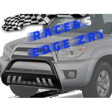 RacersEdgeZR1 1997-2004 Dodge Dakota Durango Stainless Steel Matte Black Bull Bar (Dodge Durango Bull Bar)