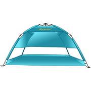 Best Beach Canopies - Beach Umbrella Tent Automatic Pop Up Sun Shelter Review