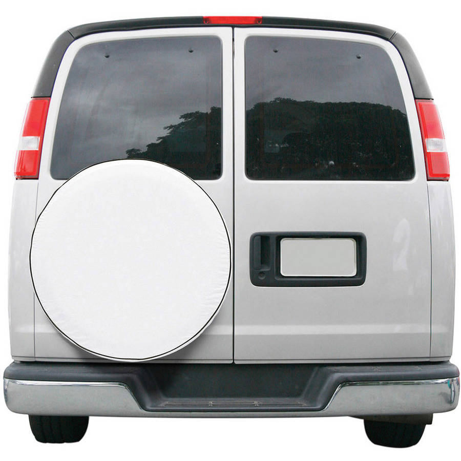 Classic Accessories RV Overdrive Universal Fit Spare Tire Storage Cover, White