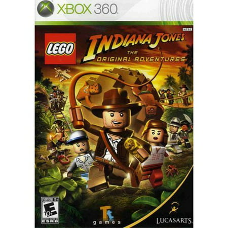 Lucasarts Lego Indiana Jones The Original Adventures Xbox 360