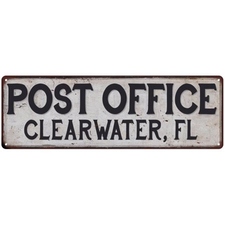 Party City In Clearwater Fl (Clearwater, Fl Post Office Personalized Metal Sign Vintage 6x18)