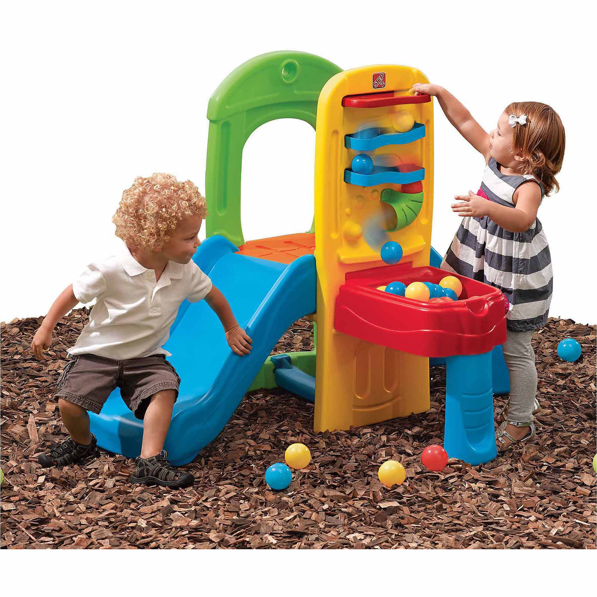 Walmart Outdoor Toys : Little tikes totsports basketball set with non adjustable