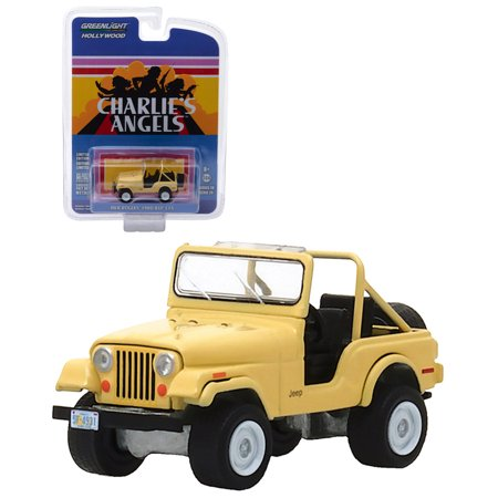 Charlie's Angels Greenlight Hollywood Jill Munroe's 1980 Jeep CJ-5 1:64 Scale