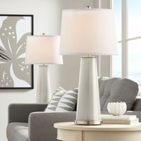 Color + Plus Requisite Gray Leo Table Lamp Set of 2