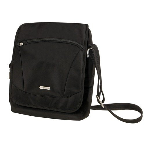 Travelon Anti-Theft Pistol Packing Shoulder Bag in Black