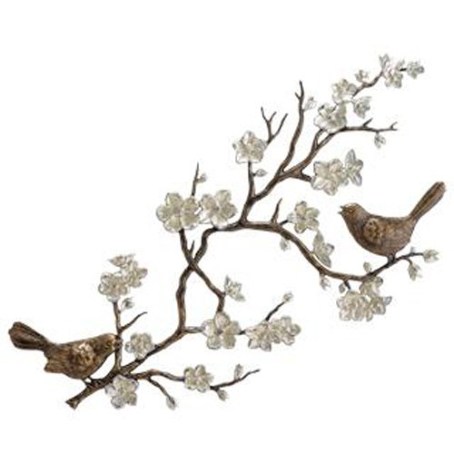 Bids and Blossom Garden Wall Plaque by SPI Home