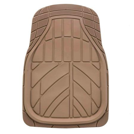 Automotive Floor Mat 2 pc Tan -