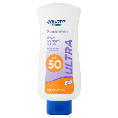 Equate Ultra Sunscreen Broad Spectrum Lotion, SPF 50, 16 fl