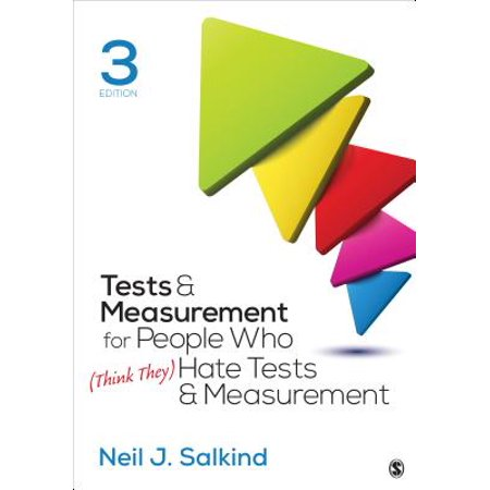 - Tests & Measurement for People Who (Think They) Hate Tests & Measurement