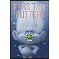 "Trolls - Movie Poster / Print (Pass The Glitter!) (Size: 24"" x 36"")"