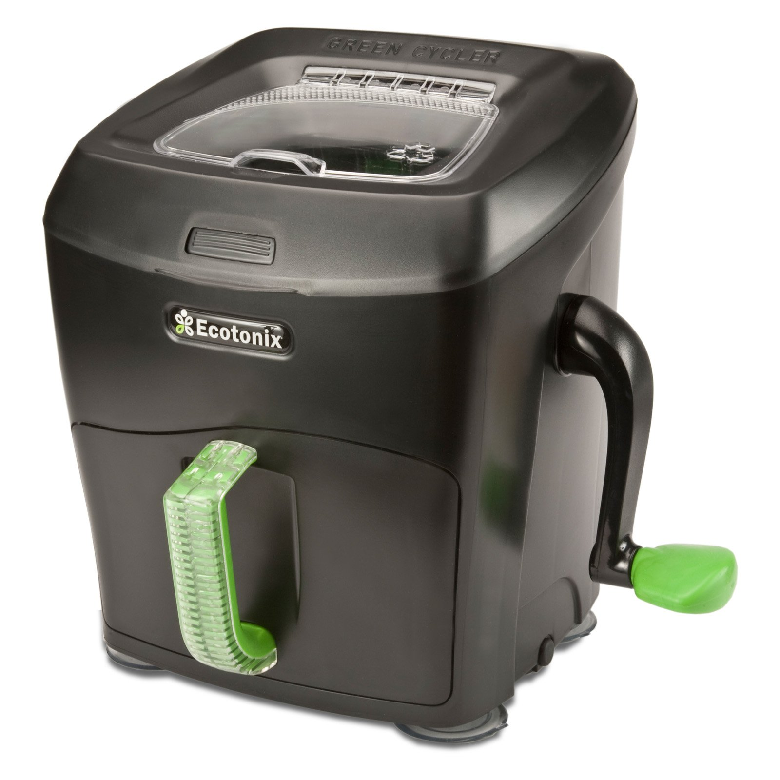 Beautiful Green Cycler Crystal Series Manual Kitchen Compost Shredder   Walmart.com