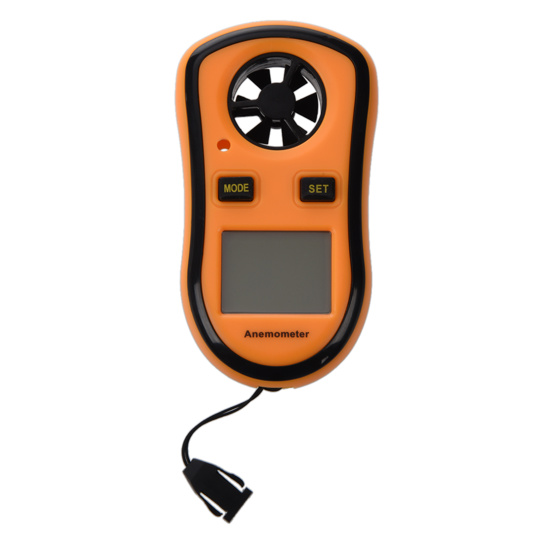 SODIAL LCD Digital Wind Speed Temperature Measure Gauge Anemometer by SODIAL