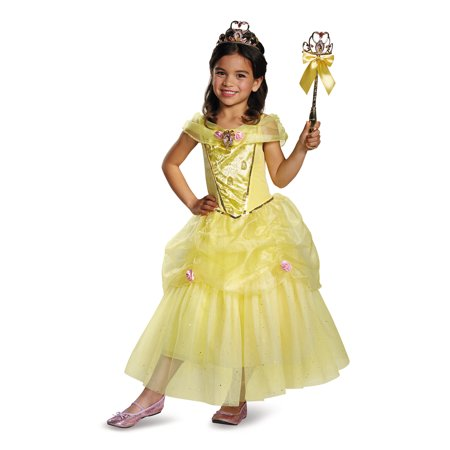 Beauty And The Beast Girls Belle Deluxe Costume - Chip From Beauty And The Beast Costume