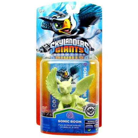 Skylanders Exclusives Sonic Boom Figure Pack [Glow-in-the-Dark, No Packaging]