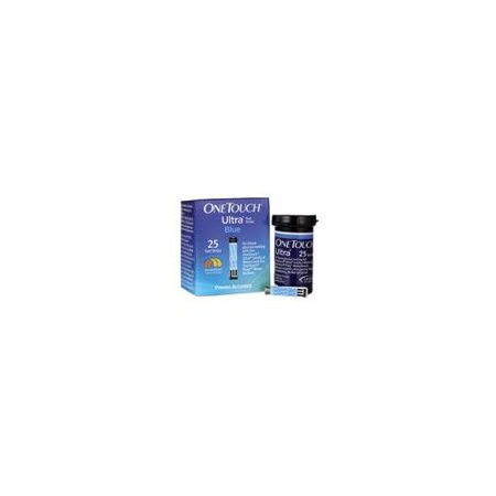 2 Pack OneTouch Ultra Blue Diabetic Test Strips 25 Count
