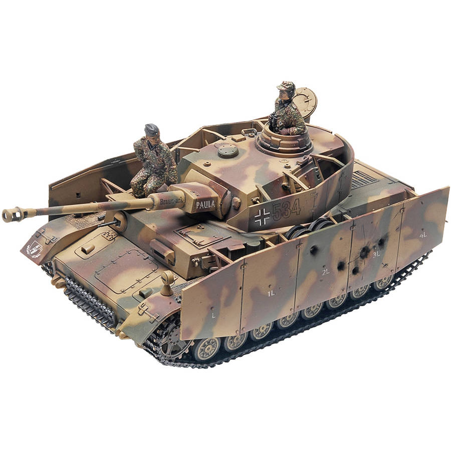 Monogram Panzer IV Tank Skill 2 Plastic Model Kit 197 pc. Box by Revell