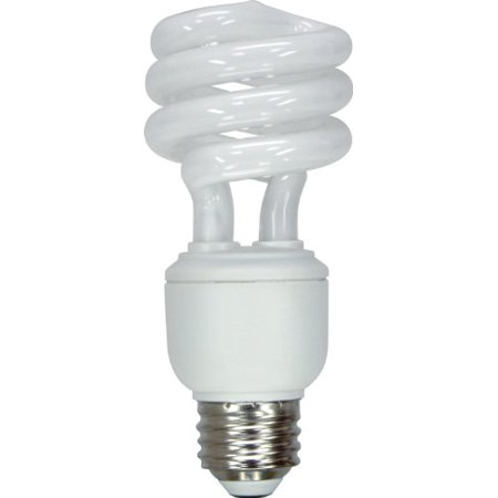 GE Lighting 47435 Energy Smart Spiral CFL 15-Watt (60-watt replacement) 950-Lumen T3 Spiral Light Bulb with Medium Base,