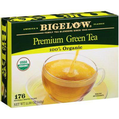 Bigelow Green Premium Thé Sacs 100% bio - 176 CT