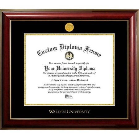 - Diploma Frame Deals Walden University Classic Picture Frame