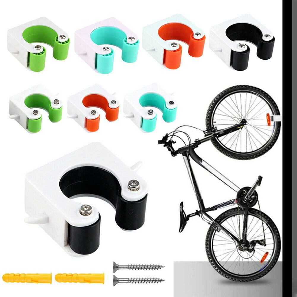 2x Bike Parking Buckle Bicycle Wall Mount Hook Bike Road Bike Parking Tools Hot