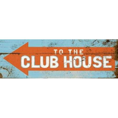 Club Medley (To the Club House Canvas Art - Elizabeth Medley (8 x)