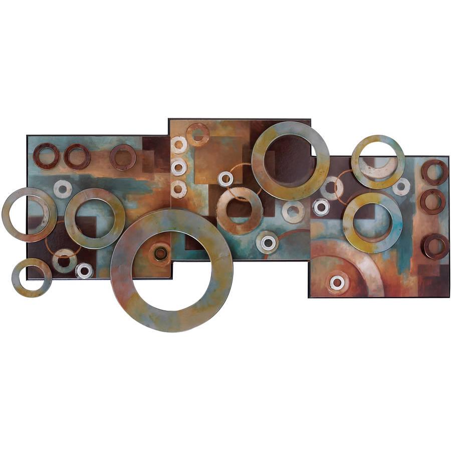 Metal Circle Wall Decor metal wall art - walmart