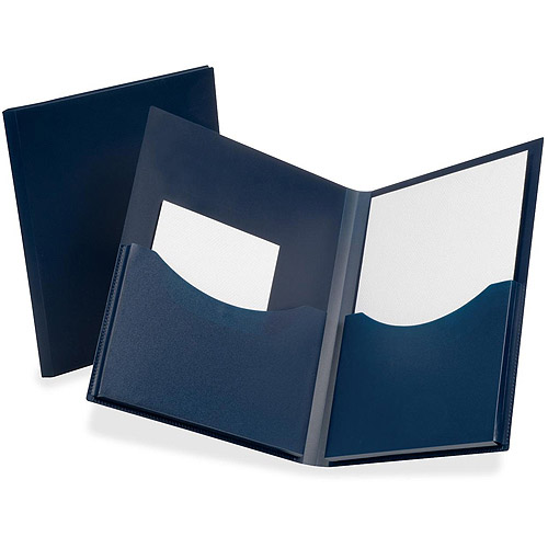 Esselte Oxford Poly Double Stuff Twin Pocket Folders