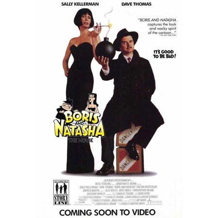 Boris and Natasha POSTER Movie Mini Promo (Natasha Romanoff Halloween)