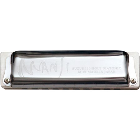 MANJI Harmonica Natural Minor Tuned