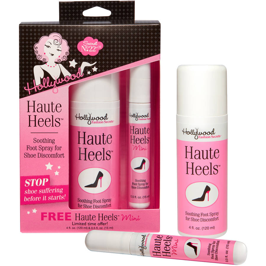 Hollywood Fashion Secrets Haute Heels/Haute Heels Mini Value Pack, 2 pc