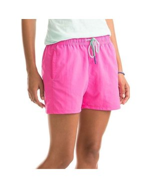 0414734395 Product Image Vineyard Vines Women's Performance Weekend Shorts in Bright  Pink 3.5