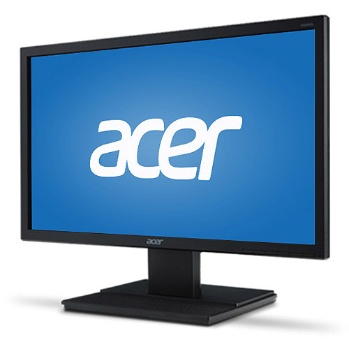 "Acer Essential 20"" LCD Monitor (V206HQL Black)"