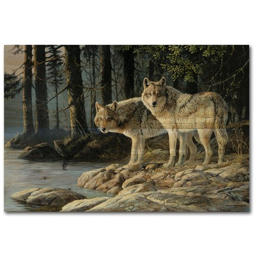WGI-GALLERY Shades by Persis Clayton Weirs Painting Print Plaque in Gray by WGI-GALLERY