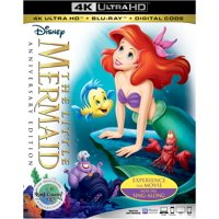 Deals on The Little Mermaid 30th Anniversary Signature Collection 4K Blu-ray