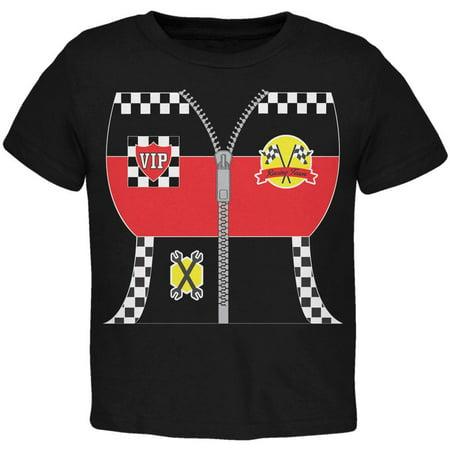 Halloween Hot Rod Costume Racing Toddler T Shirt - Racing Costume