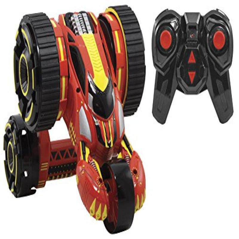 Kid Galaxy 10307 RC Stunt Racer, Red by