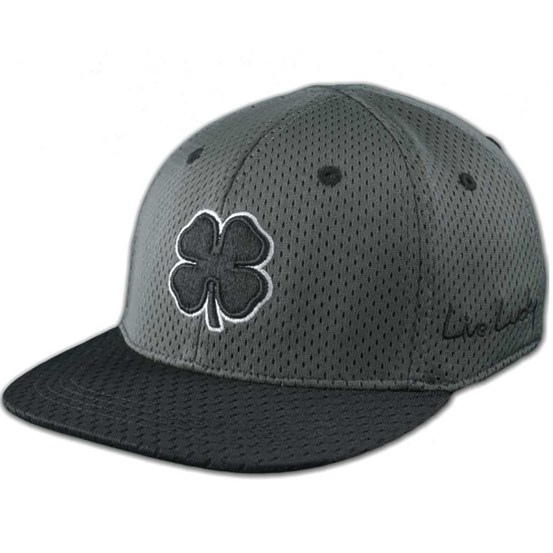 BLACK CLOVER FLAT LUCKY MESH  1HAT FLATBILL CAP -NEW 2016-PICK SIZE -  Walmart.com aa796a1db69