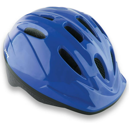 Joovy Noodle Kids Bicycle Helmet with Vented Air Mesh and Visor, Blueberry - Mega Man Helmet