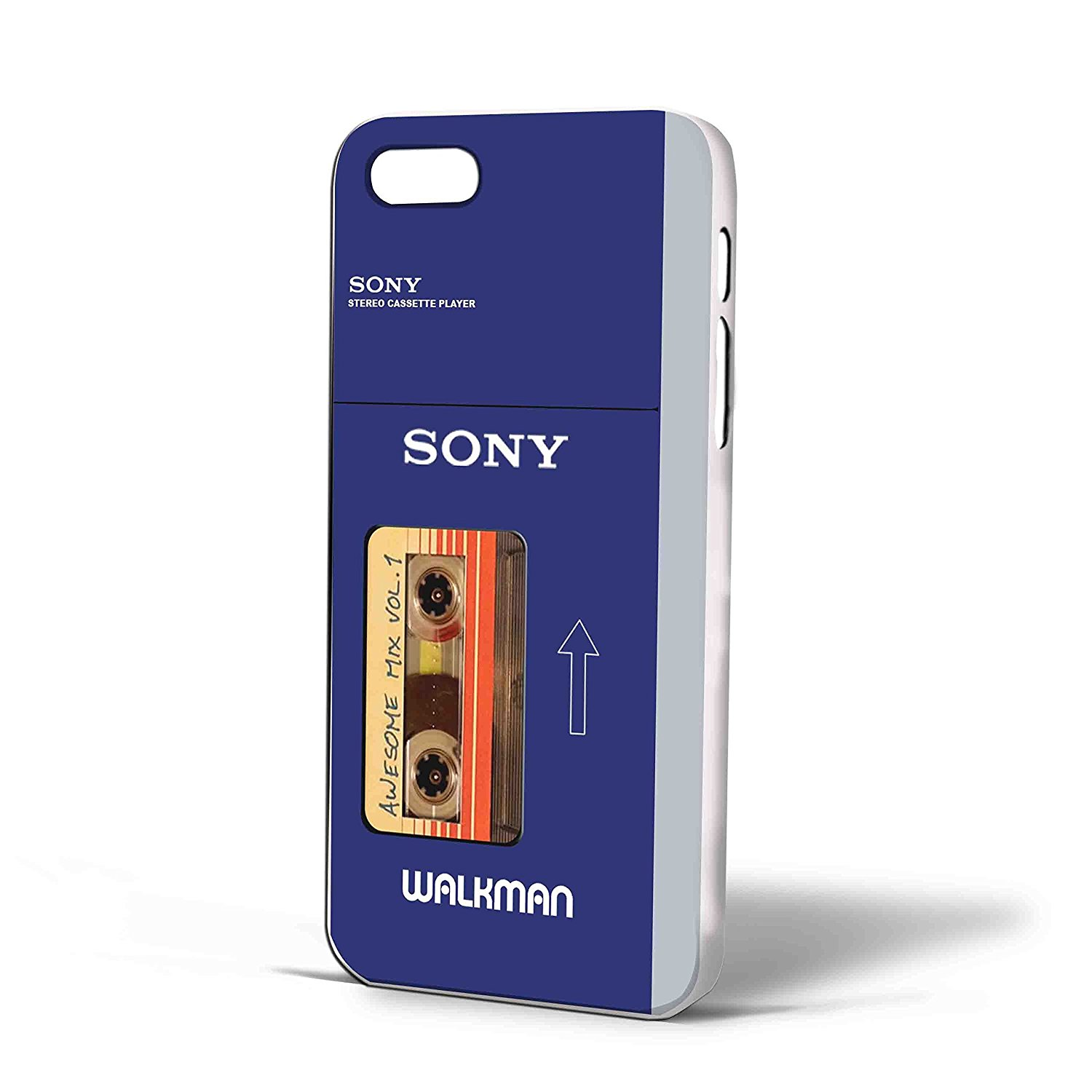 Ganma Guardians of the Galaxy Awesome Mix Tape Vol 1 Sony Walkman Case For iPhone Case (Case For iPhone 5/5s White)