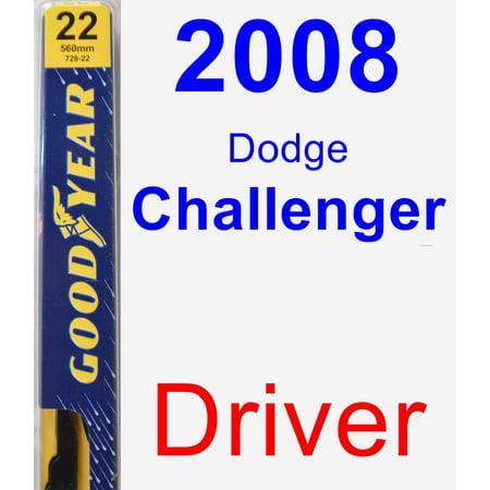 2008 Dodge Challenger Driver Wiper Blade - Premium